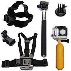 Accessory Kit For Gopro Waterproof Floating For Action Camera Gopro 6 All Action Camera Gopro 5 Xiaomi Camera Gopro 4 Gopro 4 Session