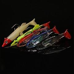 billiga Fiskbeten och flugor-10 st Fiskbete Pimplar Jerkbaits Mjukt bete Bly Kolstål Silikon Sjöfiske Kastfiske Färskvatten Fiske Andra Generellt fiske Drag-fiske