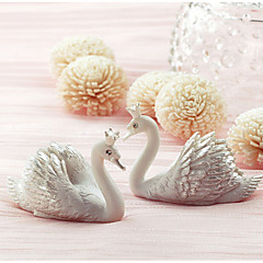 cheap Place Cards & Holders-Creative new swan card holder seats (Set of 2) Wedding Reception