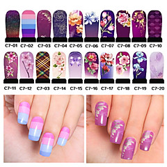 Cheap nail stickers online nail stickers for 2018 20pcs hot nail art water transfer stickers decals full cover diy nail designs manicure tools prinsesfo Choice Image