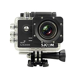 cheap Sports Action Cameras-SJCAM SJ5000 WiFi Sports Action Camera 14MP 4000 x 3000 WiFi Waterproof 4x ±2EV 2.0 inch CMOS 32GB H.264 English French German Spanish