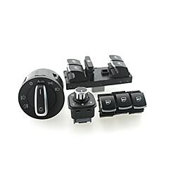 Iztoss headlight window Switch VW Passat B6 Jetta Golf MK5 MK6 CC 5ND941431B/5ND959857/5ND959855/5ND959565A 6set