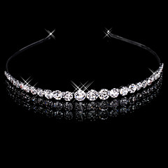Alloy Headbands Headpiece Wedding Party Elegant Feminine Style
