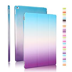 נרתיק עור באיכות טובה pu קשת שיפוע עבור iPad אוויר 2