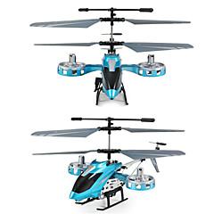 billige RC Helikopter-Radiostyrt Helikopter 8808 4 Kanaler 3 Akse Infrarød Børsteløs Elektrisk Klar-Til-Bruk