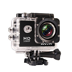 cheap Sports Action Cameras-SJCAM SJ4000 Sports Action Camera 12MP 4000 x 3000 Multi-function Waterproof Wide Angle LCD 30fps 4x 2 CMOS 32 GB H.264 English French