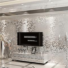 povoljno Ukrašavanje zidova-Art Deco Početna Dekoracija Suvremena Zidnih obloga, Netkani papir Materijal Ljepila potrebna tapeta, Soba dekoracija ili zaštita za zid