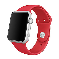 cheap Cell Phone Accessories-Watch Band for Apple Watch Series 3 / 2 / 1 Apple Sport Band Silicone Wrist Strap
