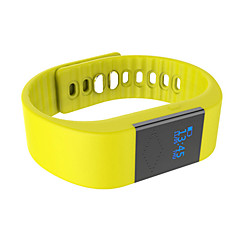 M1 Slimme armband / Activiteitentracker Verbrande calorieën / Stappentellers / Audiobellen / Wekker / Afstandsmeting / Slaaptracker