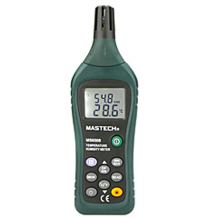 tanie Pomiar temperatury-Mastech ms6508 (pomiar temperatury otoczenia, wilgotność względna, temperatura i wilgotność) z przechowywaniem danych