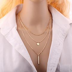 Ogrlice Choker oglice Jewelry Vjenčanje / Party / Dnevno / Kauzalni Moda Legura Zlatna / Srebrna 1pc Poklon