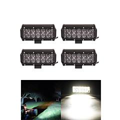 tanie Oświetlenie pomocnicze-4x 60W LED-oświetlenie robocze bar offroad 12v 24v ATV Offroad spot dla ciężarówek 4x4 UTV