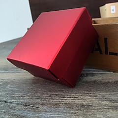 suporte de papel de papel cubico com caixas de presente - 12 favores de casamento