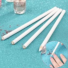 結晶ツールワックス鉛筆ペンピッカーを選ぶ4個/セットネイルアートラインストーンの宝石、ラインストーンピックアップペン