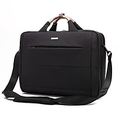 15.6 inch laptop sac de umăr impermeabil sac de mesager notebook-sac de mână pânză de nailon pentru macbook / dell / hp / lenovo, etc.