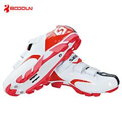 BOODUN/SIDEBIKE® joggesko Mountain Bike-sko Sykkelsko Herre Anti-Skli Demping Ventilasjon Innvirkning Vanntett Pustende Slitasje-sikker