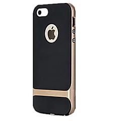 billige Telefoner og nettbrett-Etui Til iPhone 5 Apple Etui iPhone 5 Støtsikker Bakdeksel Rustning Hard PC til iPhone SE/5s iPhone 5