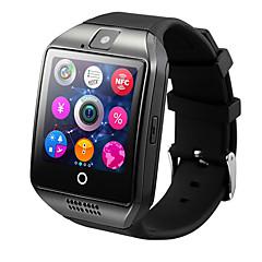tanie Inteligentne zegarki-Inteligentny zegarek Q18 na Android Bluetooth USB Ekran dotykowy Spalonych kalorii Odbieranie bez użycia rąk Kamera Śledzenie Odległość Czasomierze Powiadamianie o połączeniu telefonicznym / Budzik