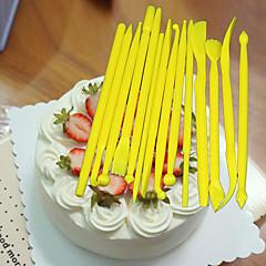 baratos Utensílios para Confeitaria-14 pcs creme burin fondant ferramentas de decoração de bolos canetas de pastelaria