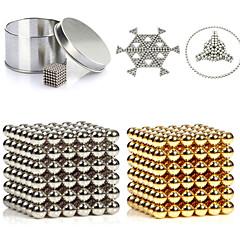 216 pcs 3mm or et argent diy boules magnétiques sphère perles aimant magnétique puzzle bloc de construction exécutif 2 couleur