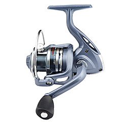 cheap Fishing Reels-Fishing Reel Spinning Reel 5.5:1 Gear Ratio+6 Ball Bearings Hand Orientation Exchangable Left-handed Right-handed Sea Fishing Bait