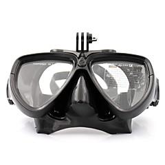 tanie Kamery sportowe i akcesoria GoPro-Gogle Maski do nurkowania Wodoodporne Dla Action Camera Gopro 5 Xiaomi Camera Gopro 4 Session Gopro 4 Gopro 3 Gopro 3+ SJ6000 Nurkowanie