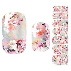 1PC Sanat Sticker Nail Çiçek Makyaj Kozmetik Sanat Tasarım Nail