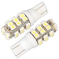 رخيصةأون أضواء السيارات-T10 W5W 168 194 بدوره إشارة ضوء إسفين الجانب مصباح المصباح الأبيض 28 مصلحة الارصاد الجوية بقيادة ضوء (12V، 2 جهاز كمبيوتر شخصى)