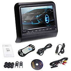 billiga DVD-spelare till bilen-DL-HA989D 9 tum Windows CE Nackstöd Spel / SD / USB-stöd / IR-sändare för Stöd / FM-sändare / DVD-R / RW / DVD+R / RW / MPEG4 / VCD