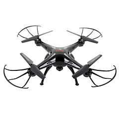 billige Fjernstyrte quadcoptere og multirotorer-RC Drone SYMA X5SC 4 Kanaler 6 Akse 2.4G Med HD-kamera 2.0MP 720P Fjernstyrt quadkopter En Tast For Retur / Hodeløs Modus / Med kamera