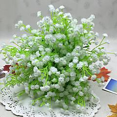 billige Kunstige blomster-Kunstige blomster 1 Gren Enkel Stil Kurvplante Brudeslør Bordblomst