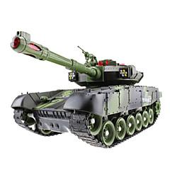 Battle Tank 1:10 Radiostyrt Bil Klar-Til-Bruk Tank Fjernkontroll/Sender Brukerhåndbok Batterilader Batteri for bil