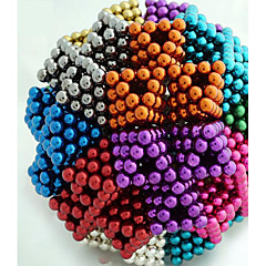 cheap Toys & Games-648/864/1000 pcs 5mm Magnet Toy Magnetic Balls Building Blocks Neodymium Magnet Stress and Anxiety Relief Office Desk Toys DIY Adults' / Children's Boys' Girls' Toy Gift