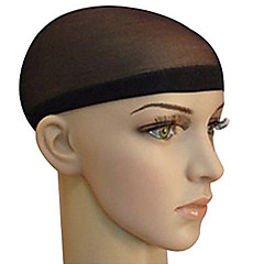 Wig Accessories Mixed Material Wig Caps Braiding Beads 2 pcs Daily Classic Black Brown