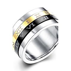 指輪 愛らしいです / タッセル / ファッション / ボヘミアスタイル / パンクスタイル / 調整可能 結婚式 / パーティー / 日常 / カジュアル / スポーツ ジュエリー バンドリング / ステートメントリング 1個,7 / 8 / 9 / 10ゴールデン /