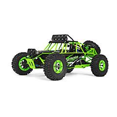 RC Car WL Toys 12428 2,4G Off Road Car Korkea nopeus 4WD Drift Car Lastenvaunut 1:12 Sähköharja 50 KM / H Kauko-ohjain Ladattava Sähköinen