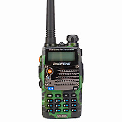 billige Walkie-talkies-BAOFENG UV-5RA Walkie-talkie Håndholdt Digital Stemmekommando Dual-band Dobbelt Display Dobbelt standby CTCSS/CDCSS LCD FM Radio 1,5-3 km