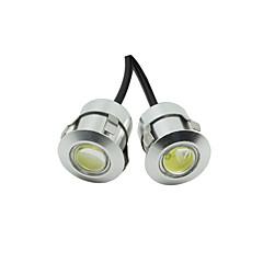 10x hvit DC12V 9w eagle eye LED-kjøre DRL backup lys bil auto lampe