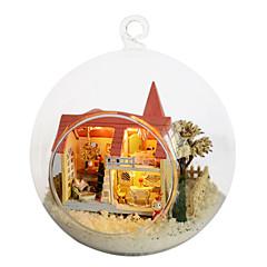 카이 재미 집 DIY 오두막의 꿈 가정 로리타 작은 집 모델 손으로 창조적 인 생일 선물에 의해 조립