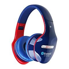 Aita bt808 dobrável Bluetooth estéreo apoio fone de ouvido fone de ouvido sd tf fm música de rádio e chamada de telefone
