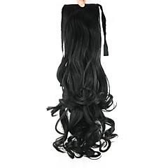 billiga Peruker och hårförlängning-Hästsvans Syntetiskt hår Hårstycke HÅRFÖRLÄNGNING Kroppsvågor
