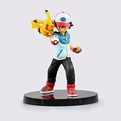 Figuras de Ação Anime Inspirado por Pocket Little Monster Ash Ketchum ABS 13.5 CM modelo Brinquedos Boneca de Brinquedo