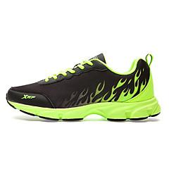 X-tep Tênis de Corrida Sapatos Casuais Homens Anti-Escorregar Anti-Shake Prova-de-Água Vestível Respirável Conforto Imediato Confortável