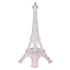 Eiffel Tower LED-valaistus Läpinäkyvä Värikäs Sisustustarvikkeet Tytöt Pojat