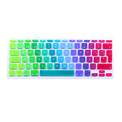 SoliconeKeyboard Cover For11.6'' / 13.3 '' / 15.4 '' Macbook Pro עם רשתית / MacBook Pro / Macbook Air עם רשתית / MacBook Air
