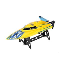 Χαμηλού Κόστους Απίθανη Πώληση-Ταχύπλοο WLTOYS WL911 Αγωνιστικά RC βάρκα Ηλεκτρική βούρτσα 4CH 2,4 G Πλαστικό Άσπρο Κόκκινο Κίτρινο