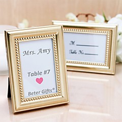 cheap Frames & Albums-Beter Gifts® Wedding Décor - 1Piece/Set - 50th Anniversary Place Holder Favor / Photo Frame Party Decoration