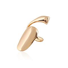 billige Motering-Dame Nail Finger Ring Midi Ring - Sølvplett, Gullbelagt Personalisert, Europeisk, Mote 4 Sølv / Gylden Til Daglig Avslappet