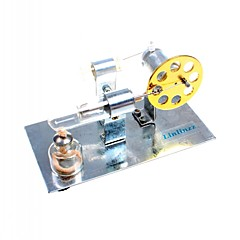 Motormotor modell Stirling Machine Barkács készlet kijelző Típus Fejlesztő játék Tudományos játékok Játékok Négyzet szakmai szint