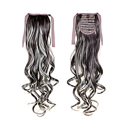 cheap Wigs & Hair Pieces-Ponytails Wavy Classic Synthetic Hair Hair Extension Cross Type Daily